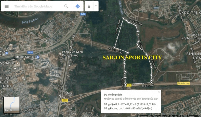 Vị trí Saigon Sports City