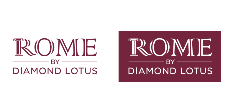 Logo dự án Rome by Diamond Lotus